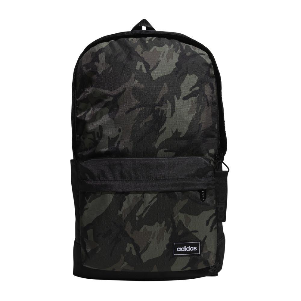 Mochila Unisex Adidas Classic Camo Backpack image number 0.0
