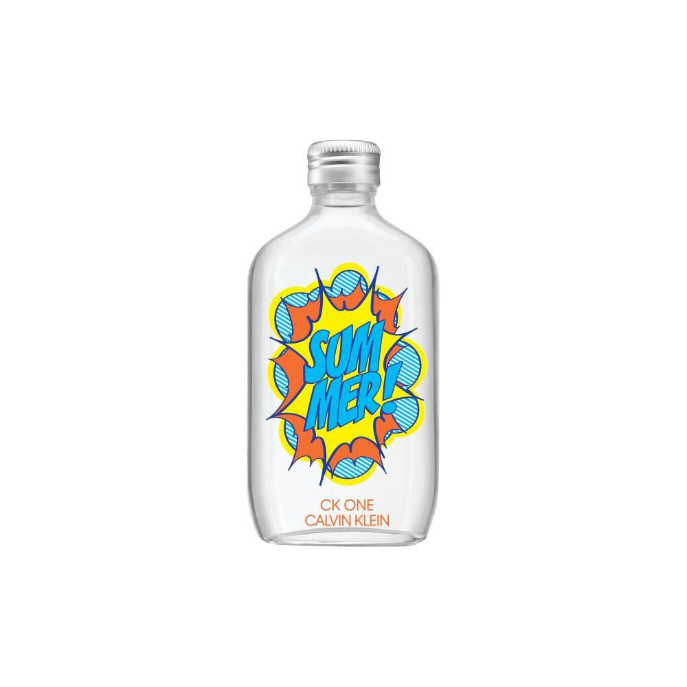 Perfume One Summer Calvin Klein / 100 Ml / Edt image number 1.0