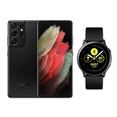 Smartphone Samsung S21 Ultra + Galaxy A21S