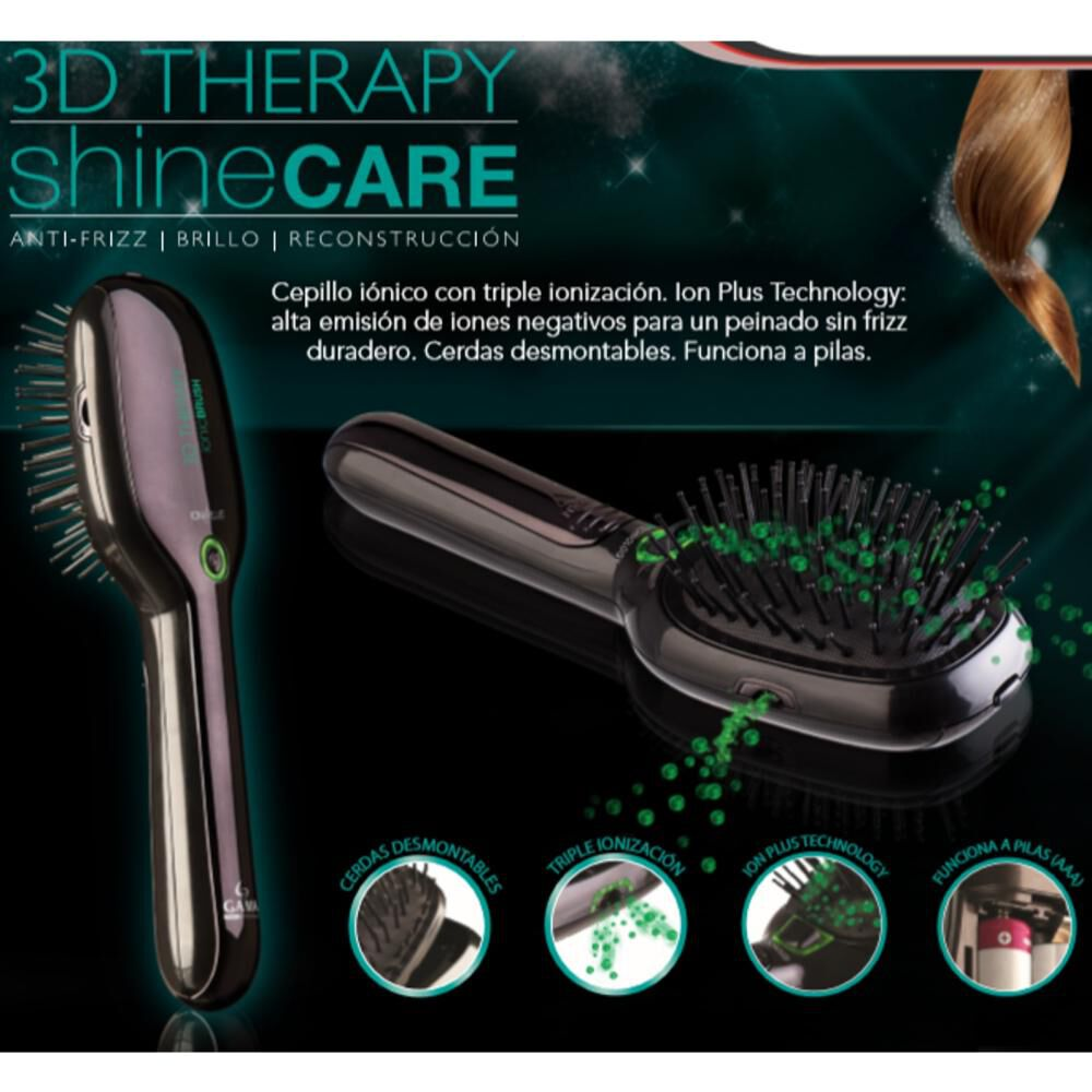 Cepillo Modelador  Gama Shine Care 3d Therapy image number 2.0