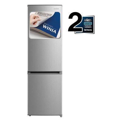 Refrigerador Bottom freezer Winia RFD366S / Frío Directo / 260 Litros
