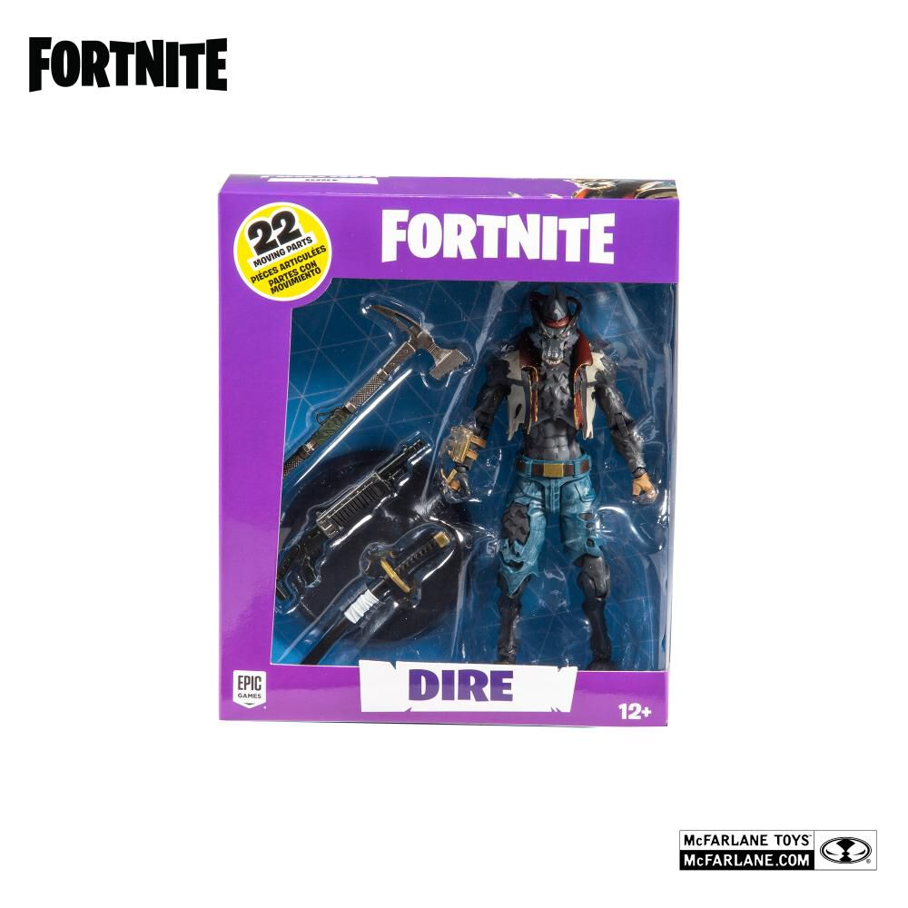 "Fnt10722 Fig Accion Fornite 7""Dire image number 4.0"