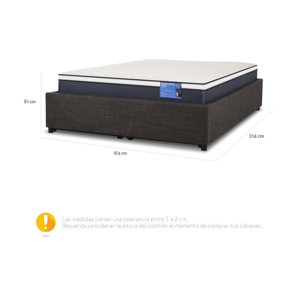 Cama Space Box Cic Excellence Plus / 2 Plazas image number 9.0