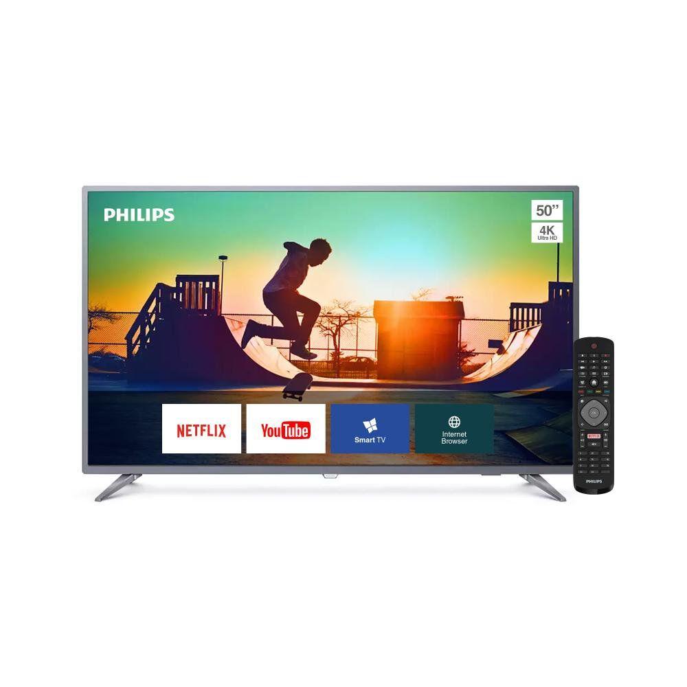 """Led Philips 50PUD6513 / 50"""" / Ultra Hd / 4K / Smart Tv image number 1.0"""