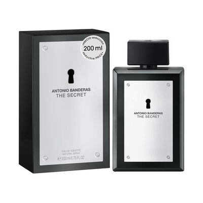 Perfume Antonio Bandera The Secret Edición Limitada / 200Ml / Edt