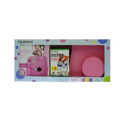 Cámara Instantánea Fujifilm Intax Mini 9 + Combo