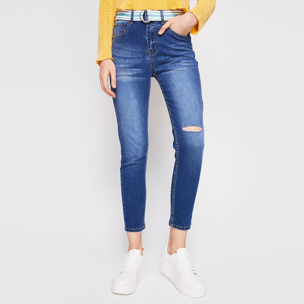 Jeans Super Skinny Mujer Freedom image number 0.0