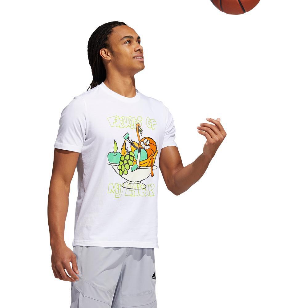 Polera Hombre Adidas Estampado De Frutas Lil Stripe image number 2.0