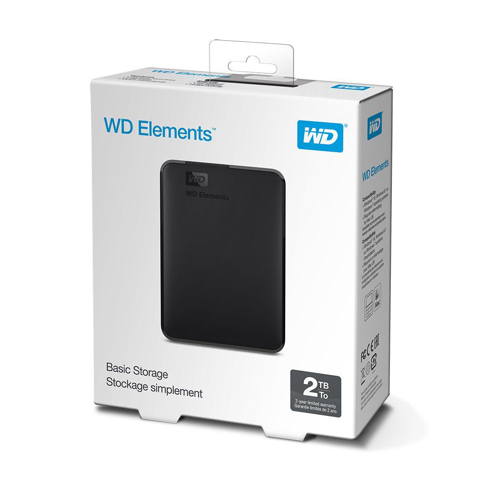 Disco Duro Externo Wd Elements / 2 TB image number 2.0
