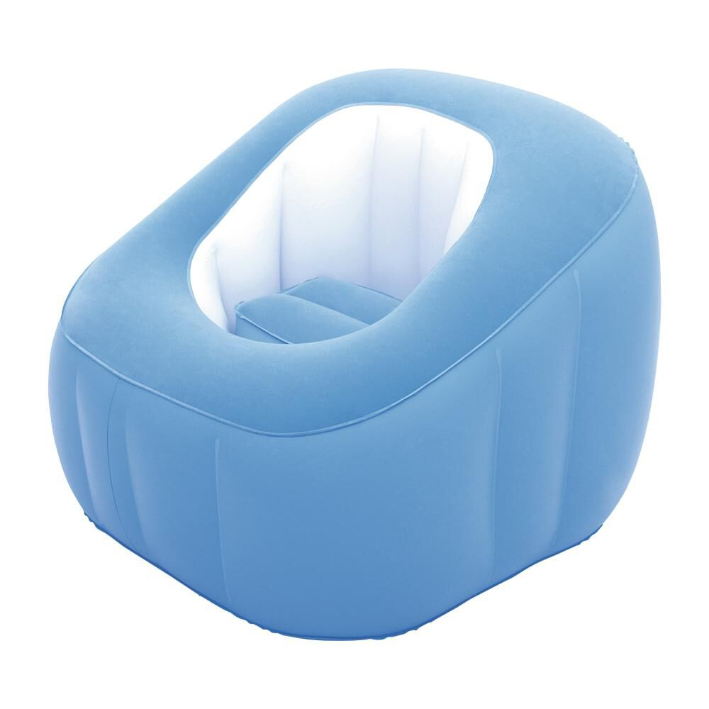 Sillón Inflable Bestway Comfi Cube Azul image number 0.0