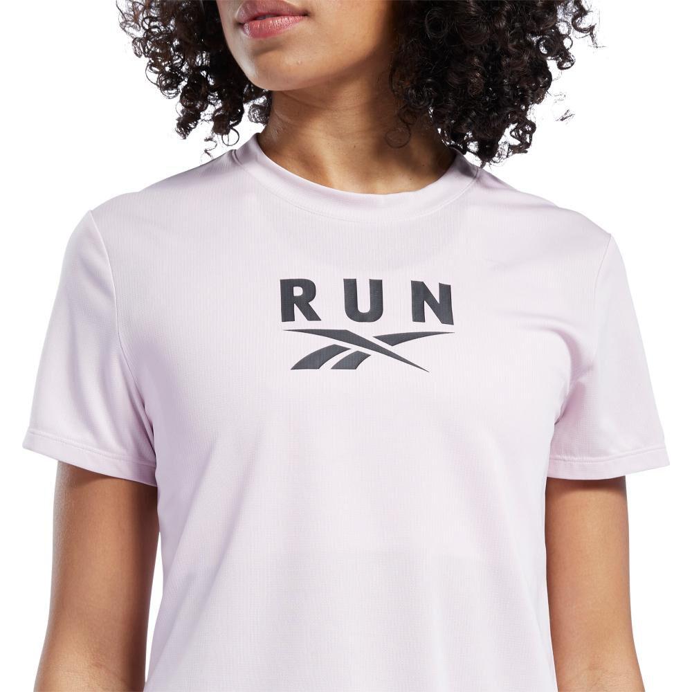 Polera Mujer Reebok Workout Ready Run Speedwick Graphic Tee image number 2.0