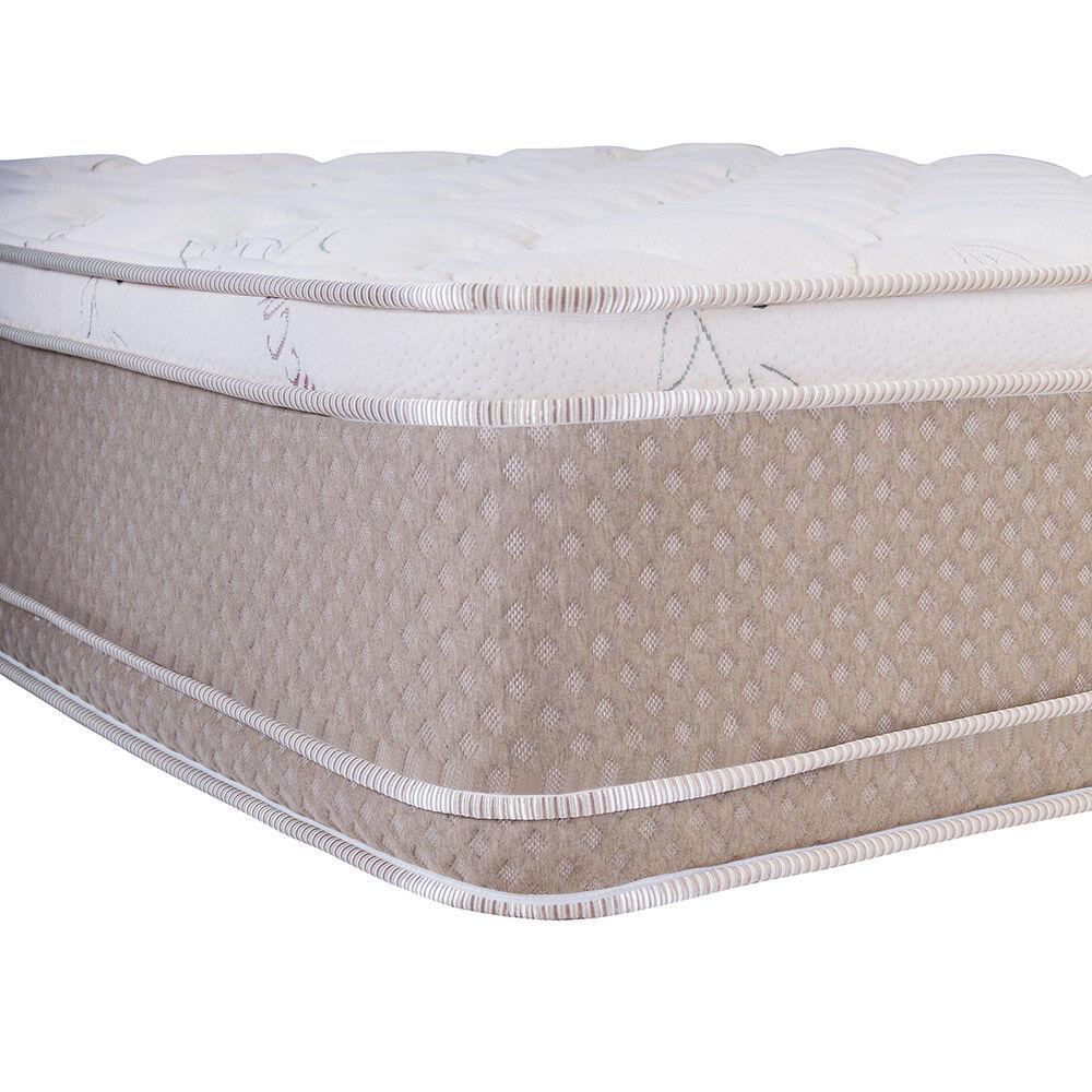 Cama Europea Celta Cotton Organic / King / Base Dividida  + Set De Maderas image number 1.0