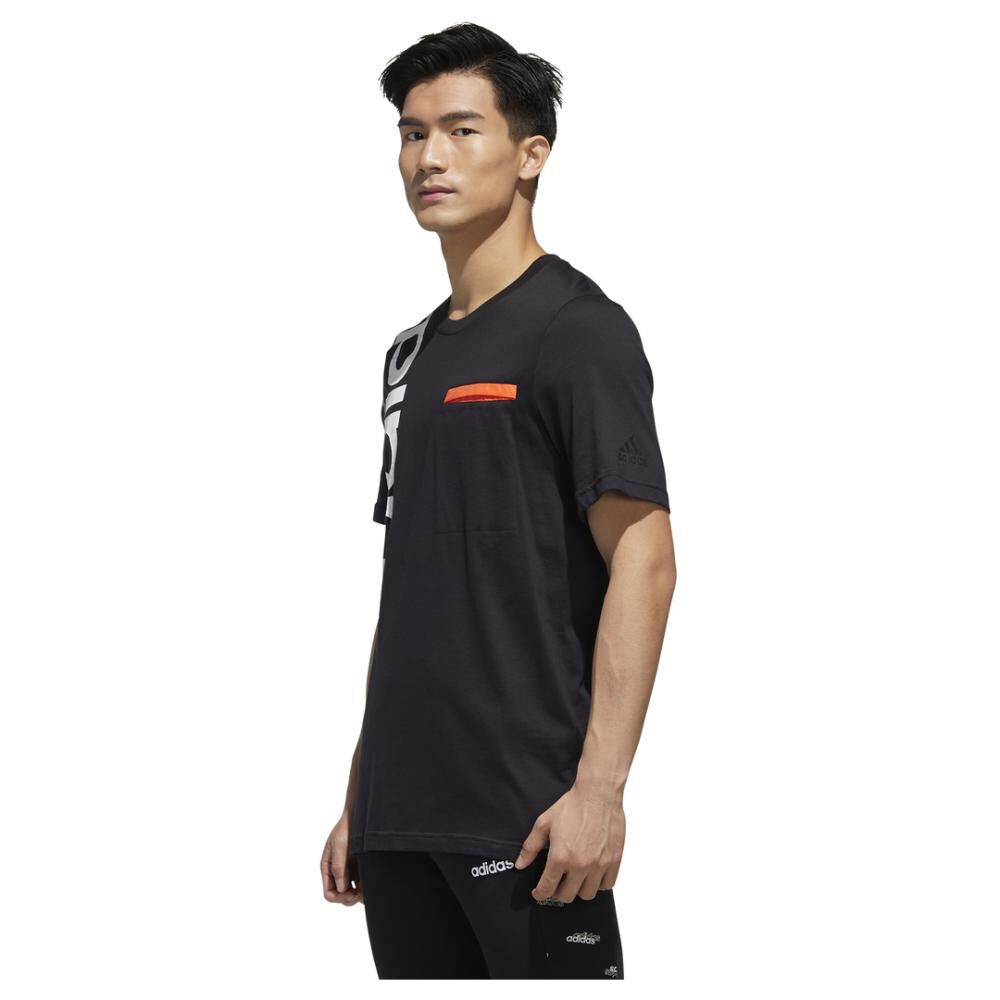 Polera Hombre Adidas M New Authentic Tee image number 1.0