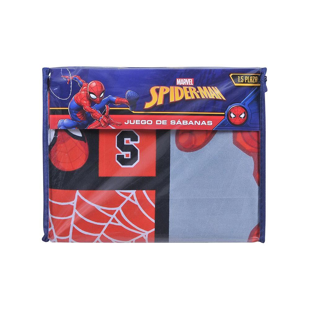 Juego De Sábanas Disney Spiderman / 1.5 Plazas image number 2.0