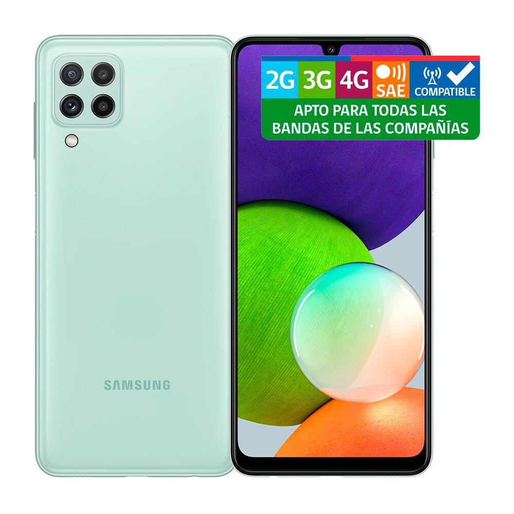 Smartphone Samsung Galaxy A22 Menta / 128 Gb / Liberado image number 9.0