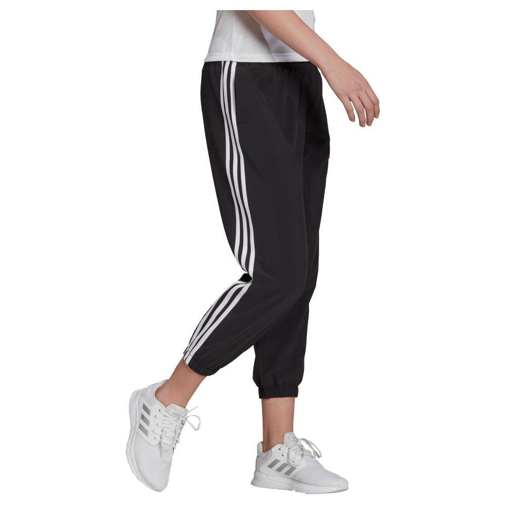 Pantalón De Buzo Mujer Adidas Essentials Woven 3-stripes 7/8 image number 2.0