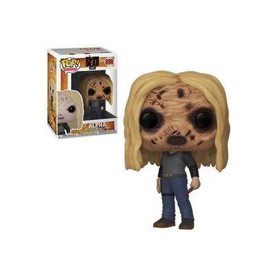 Figura De Acción Funko Pop Tv Walking Dead Alpha W Mask