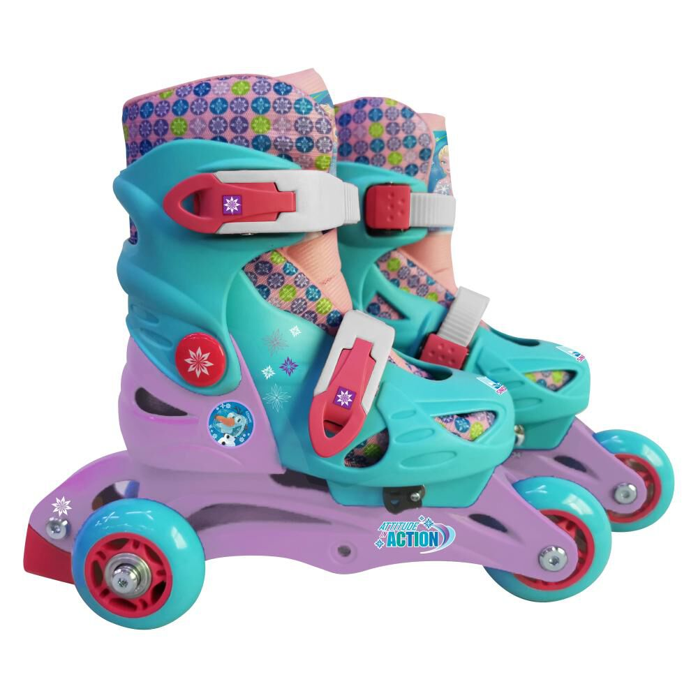 Patines Frozen Yx-0153-32 3 Wheels Style 2 In 1 image number 0.0