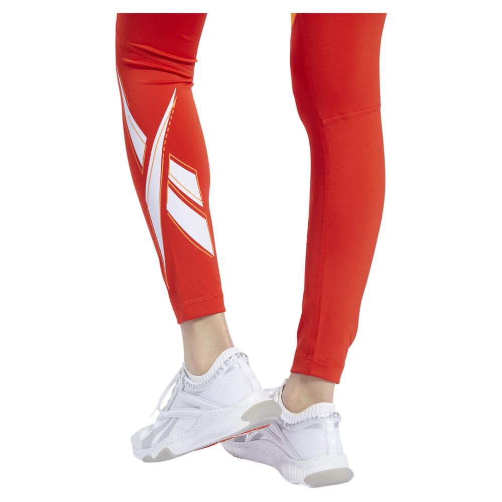Calza Mujer Reebok Workout Ready Vector Logo Tight image number 4.0