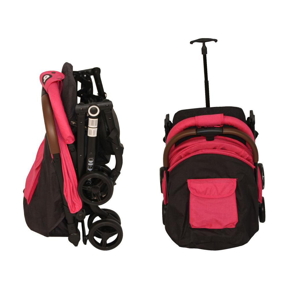 Coche Travel System Compacto Bebeglo RS-13785-2 Fucsia image number 6.0