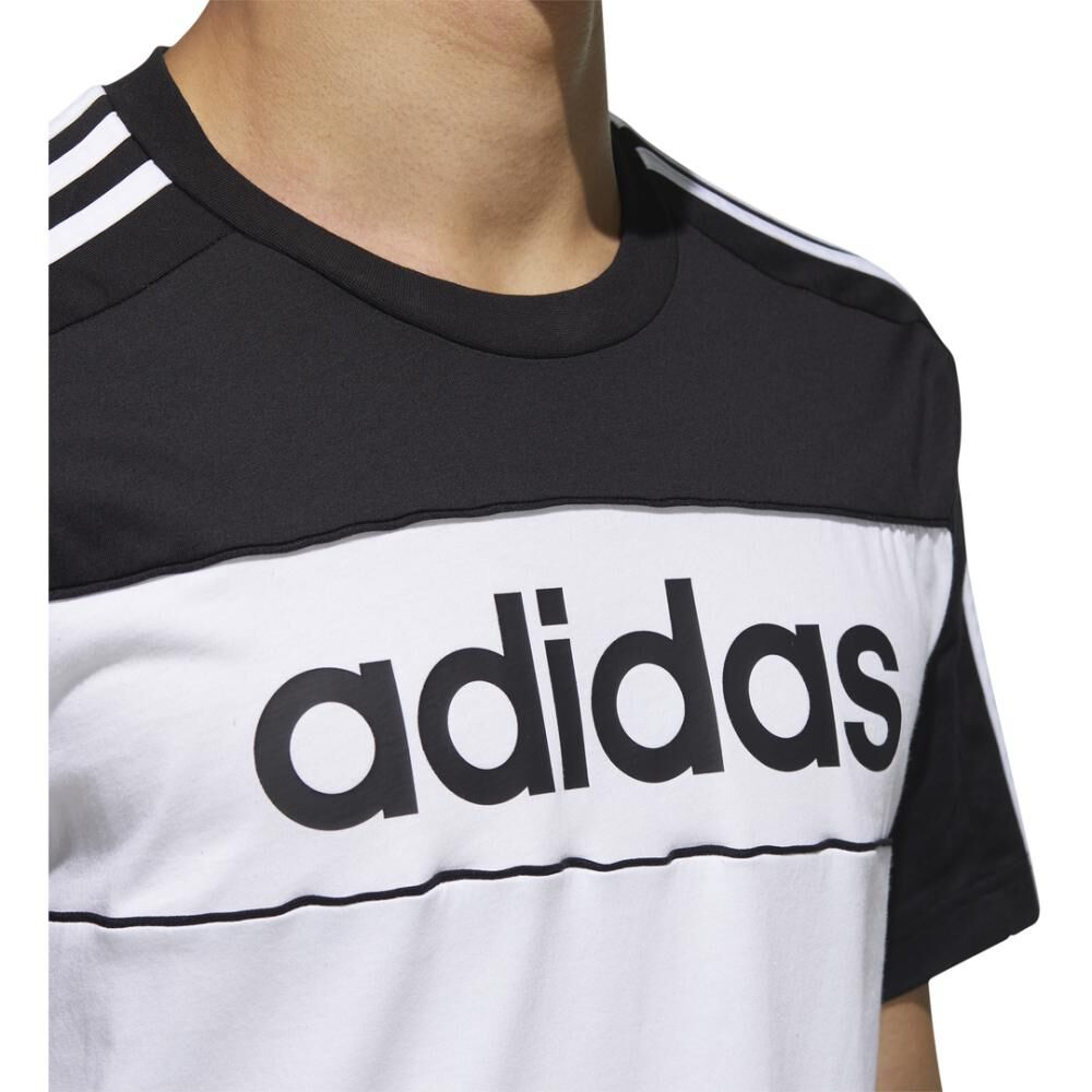 Polera Hombre Adidas Essentials Tape T-shirt image number 8.0