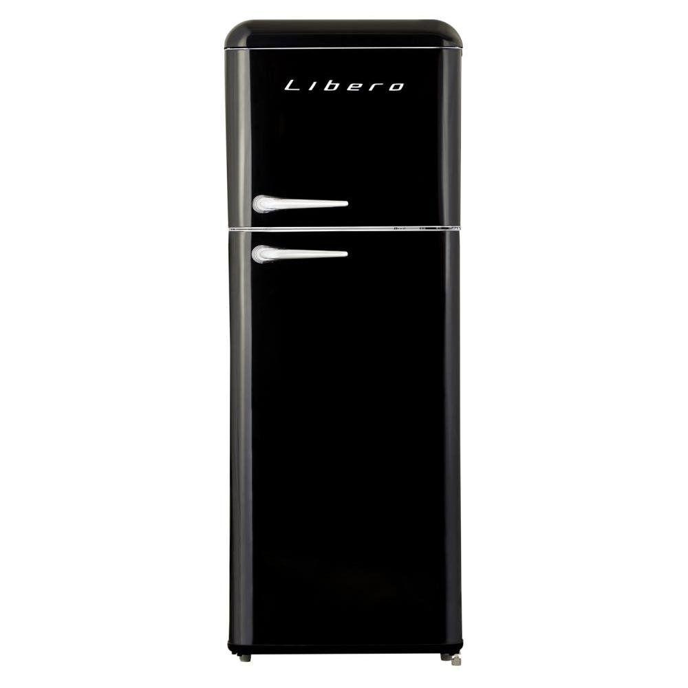 Refrigerador Libero Retro Lrt-210Dfnr Negro / Frío Directo / 203 Litros image number 0.0