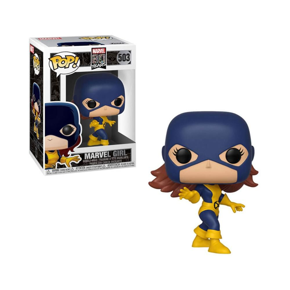 Figura De Acción Funko Pop Marvel 80th First Appearance Marvel Girl image number 0.0