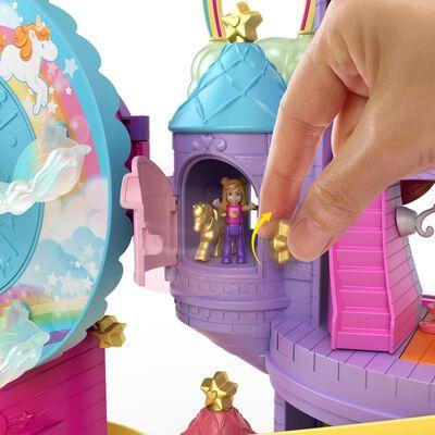 Castillo Mini Muñecas Polly Pocket Parque De Diversiones