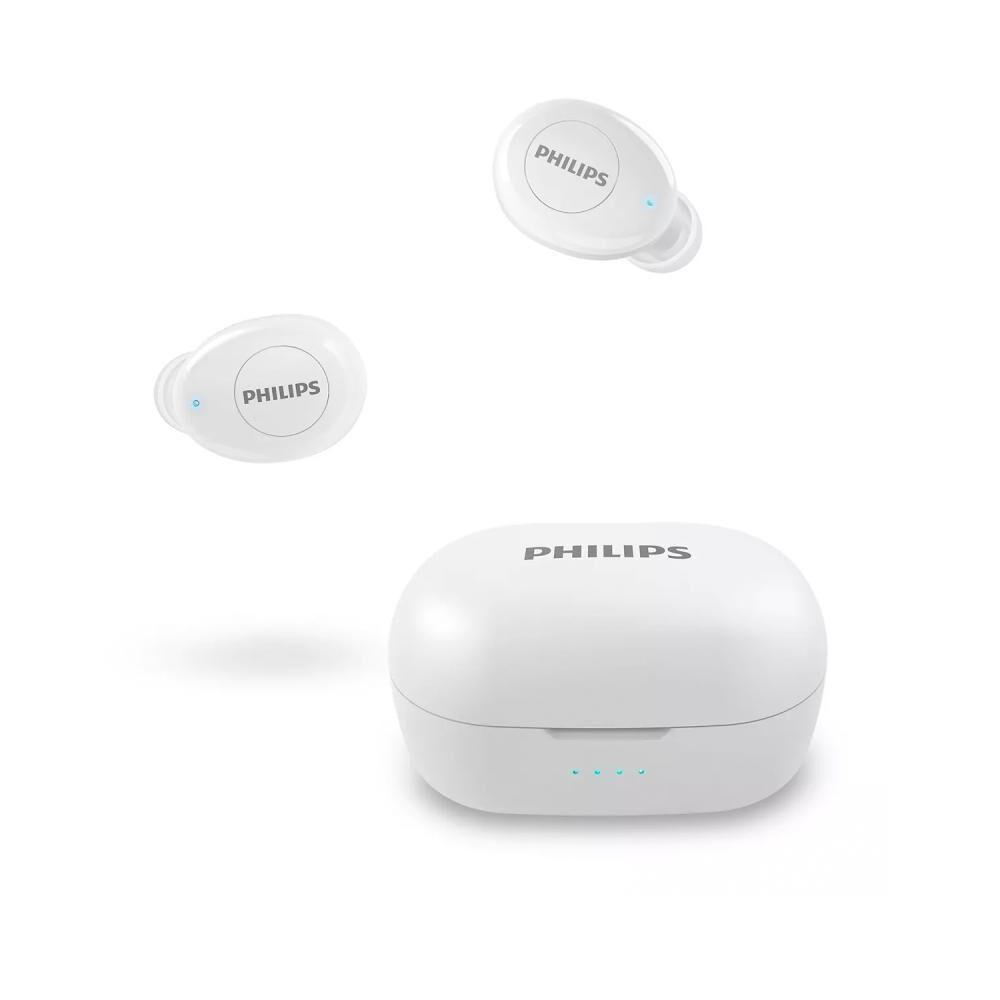 Audífono Bluetooth True Wireless Philips TAT2205 Blanco image number 1.0