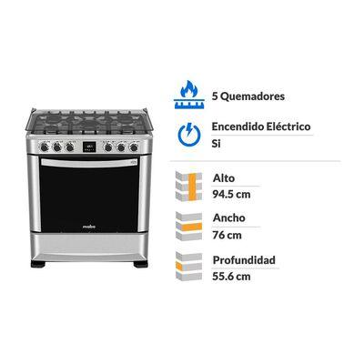 Cocina Mabe Andes7670fx0 5 Platos