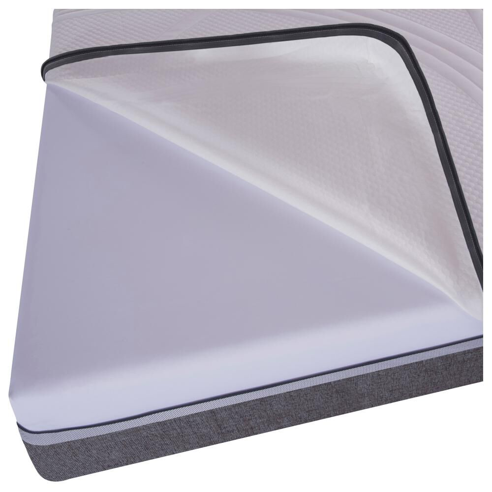 Box Spring Cic Ortopedic / 2 Plazas / Base Normal  + Set De Maderas image number 2.0
