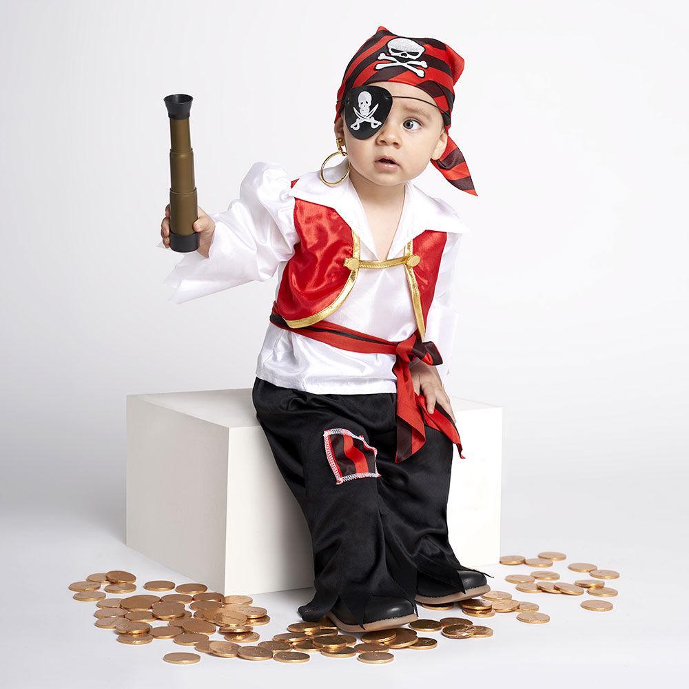 Disfraz Glam Pirata Talla 2/3 image number 0.0