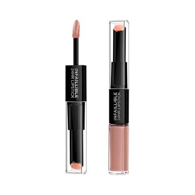 Labial Larga Duración L'oreal Infallible 24hr 2-step 116 Beige To Stay