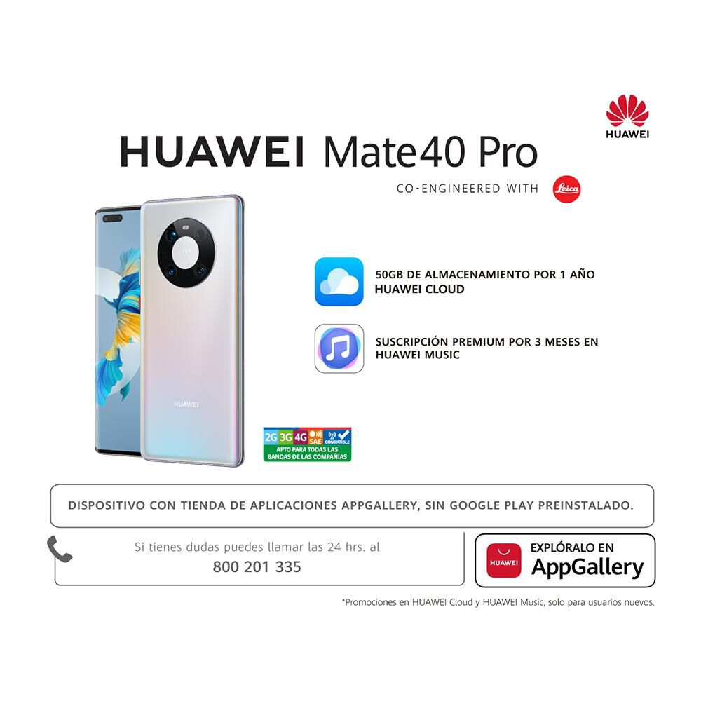 Smartphone Huawei Mate 40 Pro 256gb image number 9.0