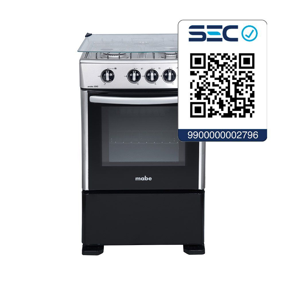 Cocina Mabe Cmc5515Gch-2 / 4 Quemadores image number 3.0