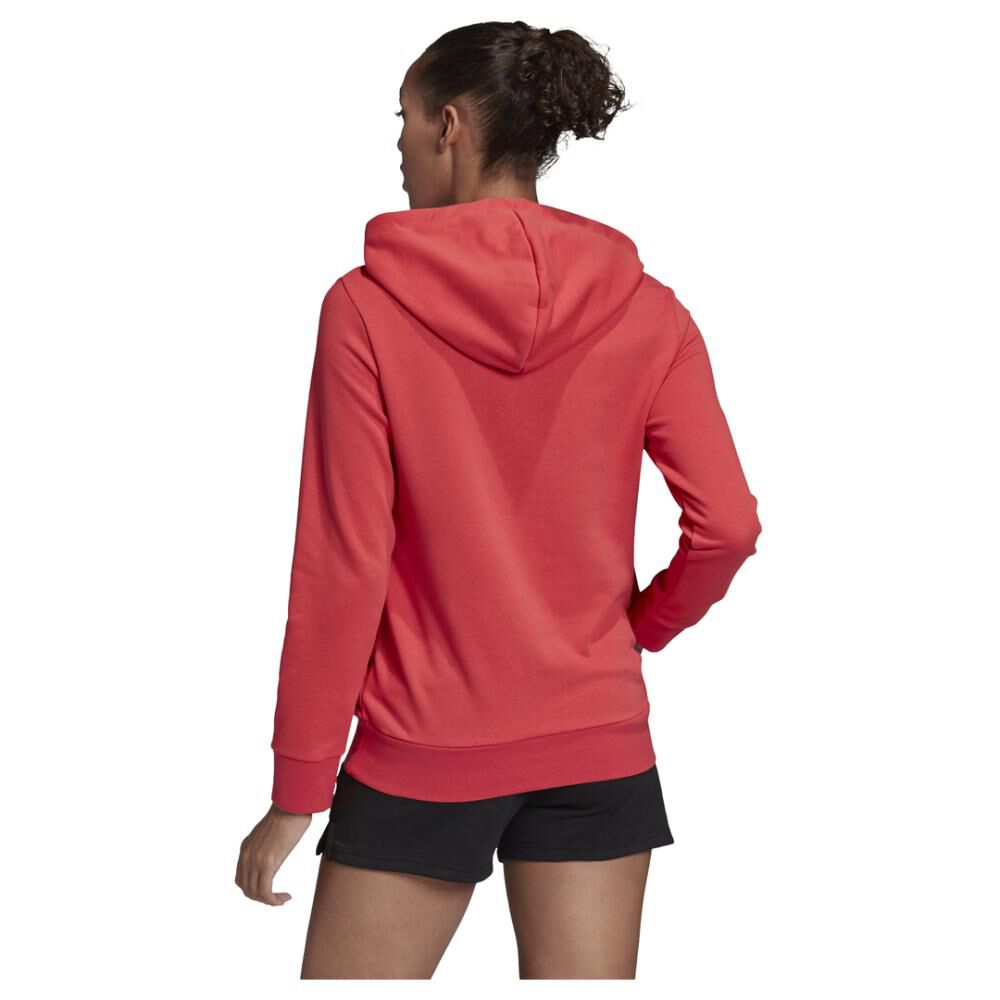 Poleron Deportivo Mujer Adidas Essentials Linear Over Head image number 3.0