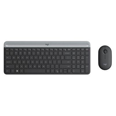 Teclado + Mouse Logitech Mk470
