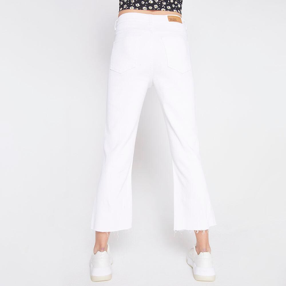 Jeans Tiro Alto Culotte Mujer Freedom image number 2.0