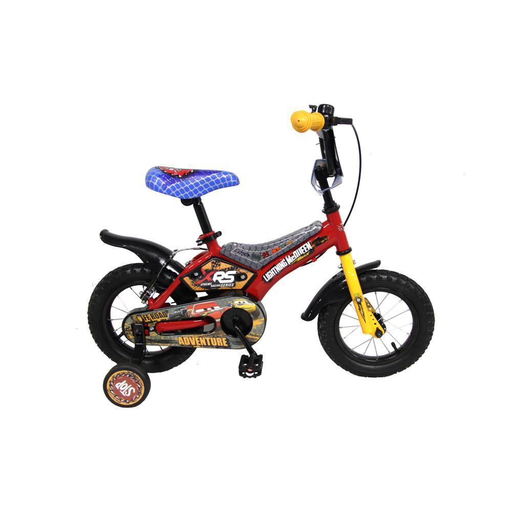 Bicicleta Infantil Disney Cars / Aro 12 image number 0.0