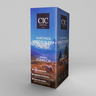Almohada Cic Visco Sleep Tech Series