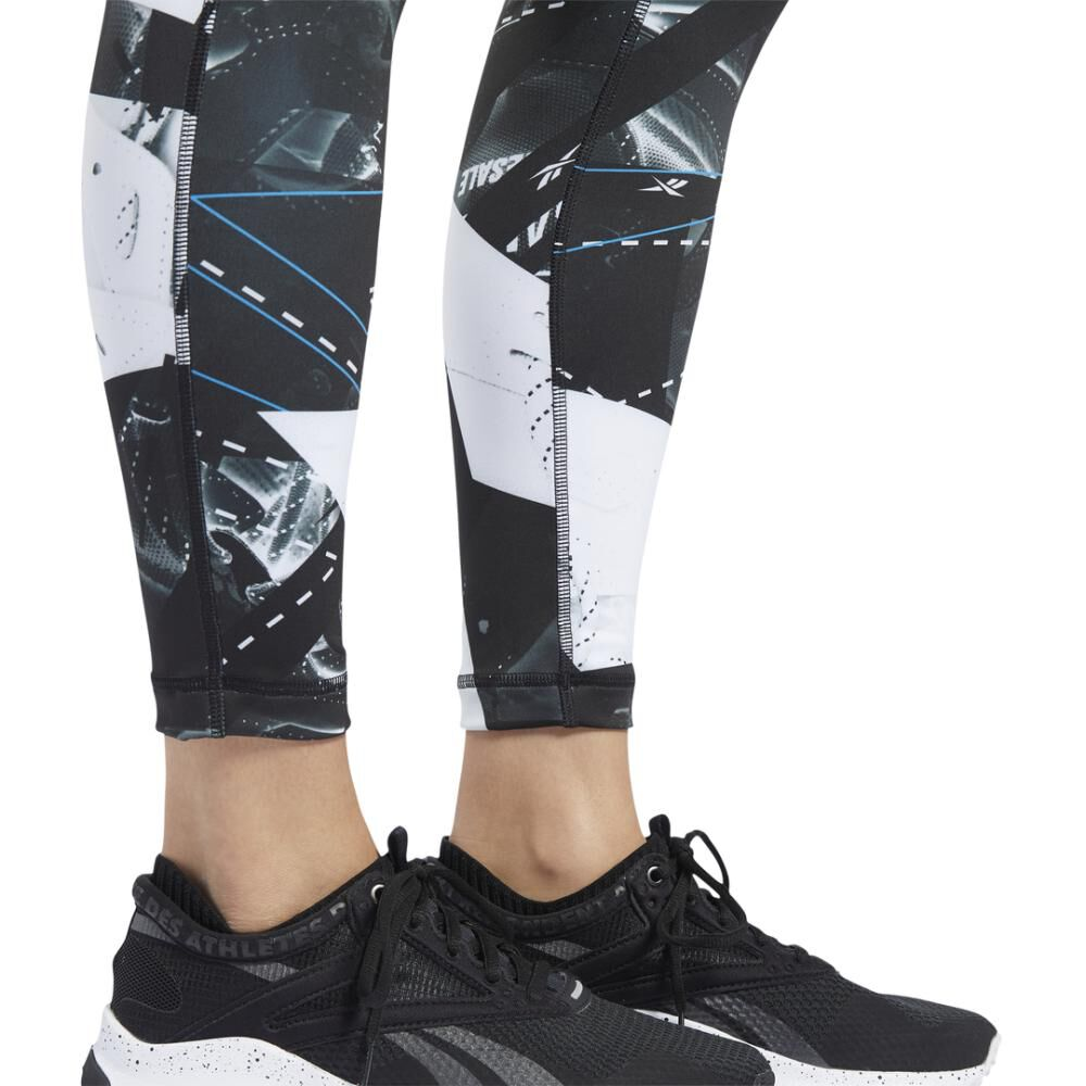 Calza Mujer Reebok Workout Ready Aop image number 5.0
