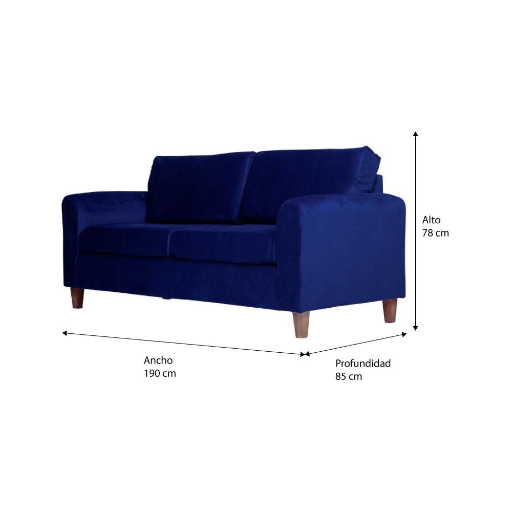 Sofa Altohogar Delfos 3C / 3 Cuerpos image number 4.0