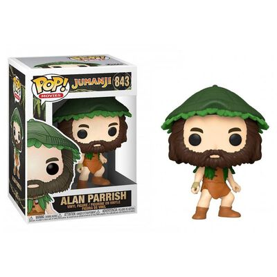 Figura De Acción Funko Pop Movies Jumanji Alan Parrish