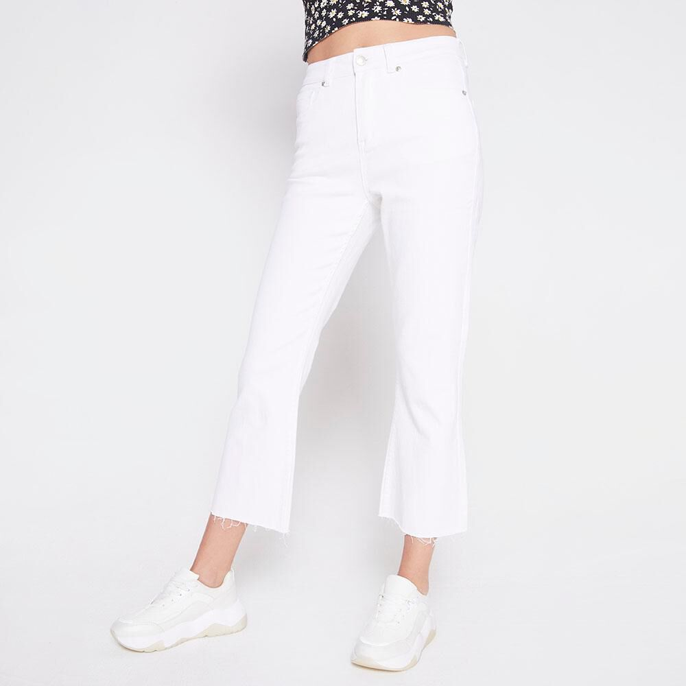 Jeans Tiro Alto Culotte Mujer Freedom image number 0.0