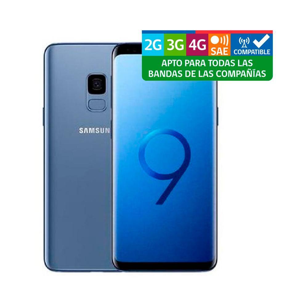Smartphone Samsung Galaxy S9 Plus Reacondicionado Azul / 64 Gb / Liberado image number 2.0