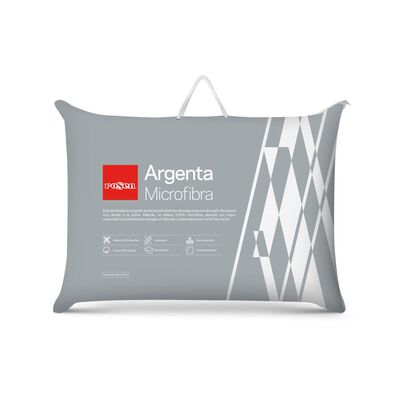Almohada Rosen Microfibra Argenta / 233 Hilos