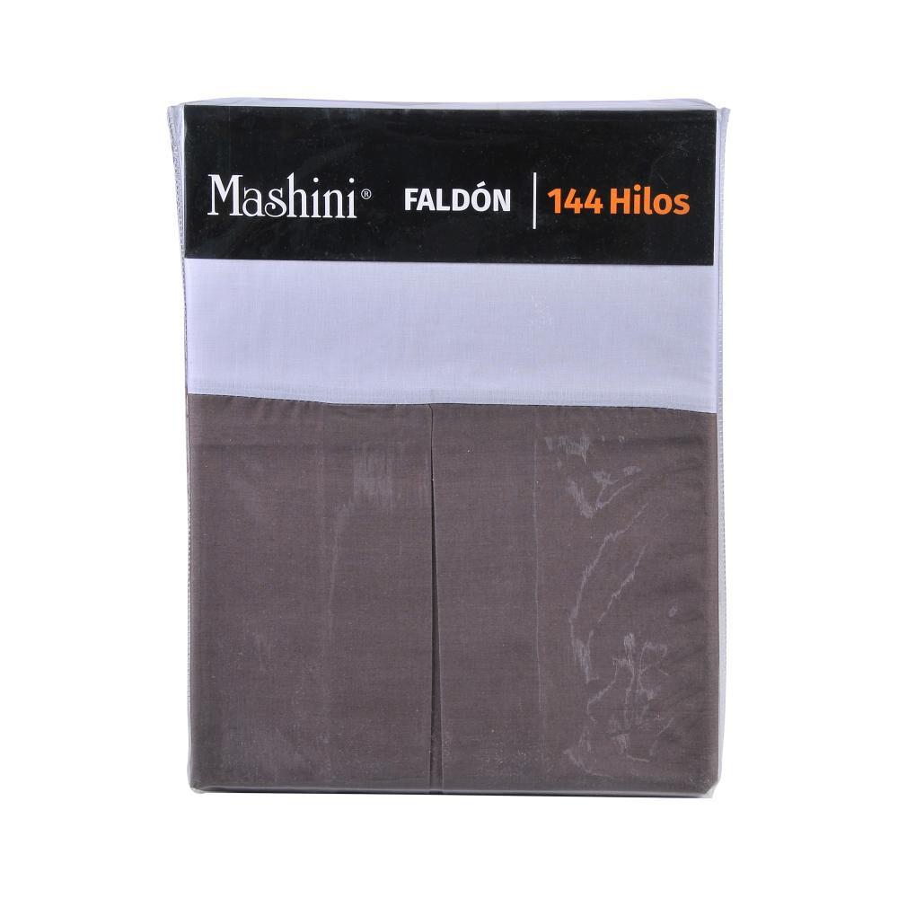Faldón Mashini Liso / King / 144 Hilos image number 2.0