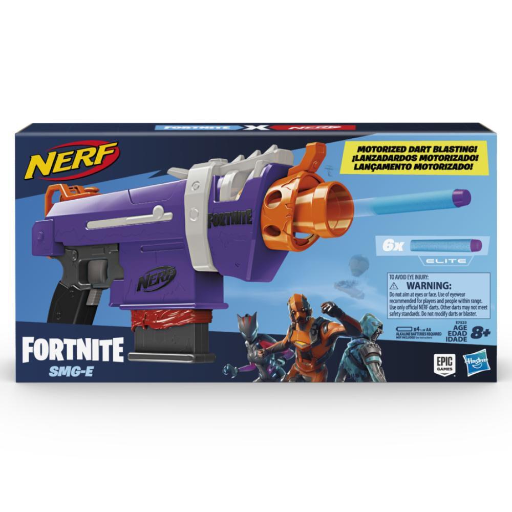 Lanzador De Dardos Nerf Fortnite Smg-E image number 0.0