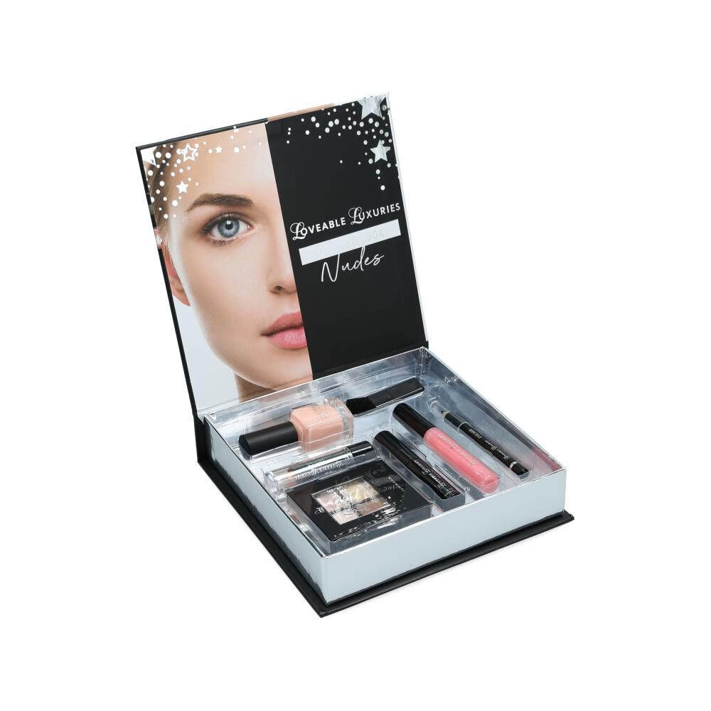 Set De Maquillaje Loveable Luxuries Get The Look Nudes image number 1.0