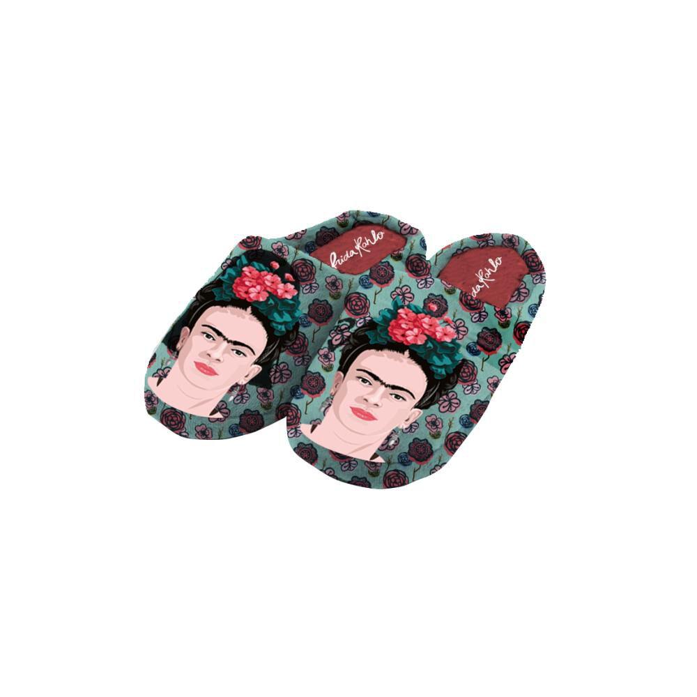 Pantuflas Mujer Frida Kahlo image number 0.0